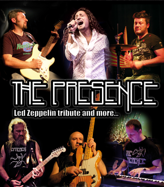 THE PRESENCE - Led Zeppelin tribute and more...